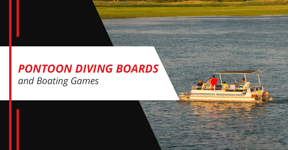 Pontoon Diving Boards and Boating Games