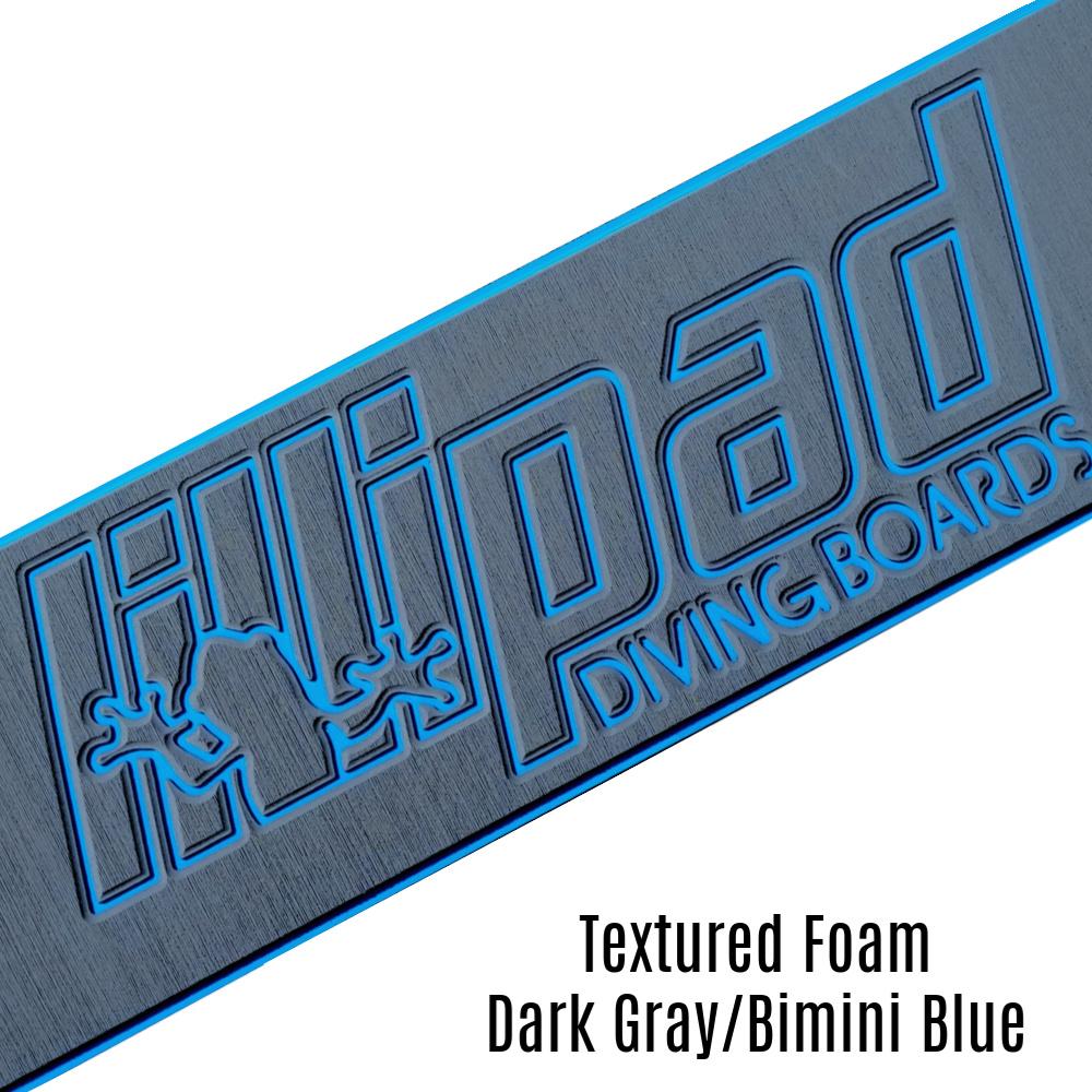 Dark Gray & Bimini Blue