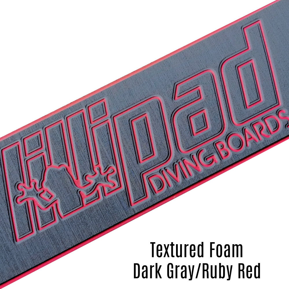 Dark Gray & Ruby Red